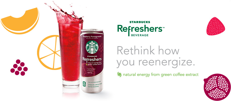 New Starbucks Refreshers