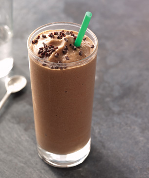 Peppermint Mocha Frappuccino&#174; Light blended beverage