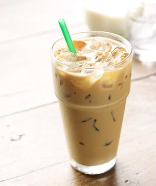 Iced Caff Latte
