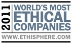 2011 World's Most Ethical Companies Award