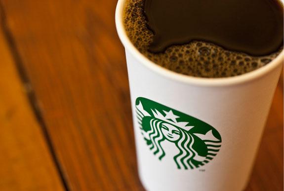 New Starbucks Logo