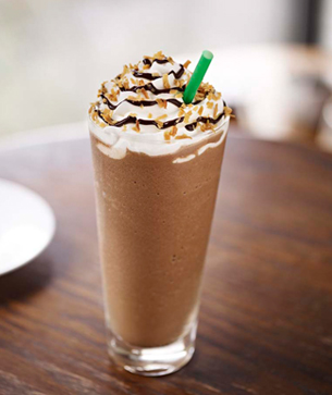 Mocha Coconut Frappuccino