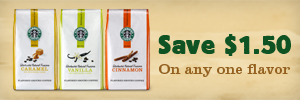 Save $1.50 off New Starbucks® Natural Fusions