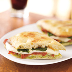 Roasted Tomato & Mozzarella Sandwich